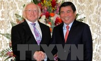 Глава администрации города Хошимина принял президента Ирландии