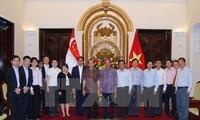 Вьетнам и Сингапур укрепляют сплоченность и развивают центральную роль АСЕАН
