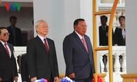 Вьетнам и Лаос сделали совместное заявление