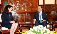 Чан Дай Куанг принял главу Американского национального центра АТЭС