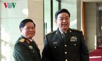 Министры обороны СРВ и КНР выразили решимость поднять отношения двух стран на новую высоту
