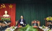 Нгуен Суан Фук провёл рабочую встречу с руководством провинции Туен Куанг