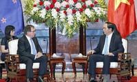 Вьетнам и Новая Зеландия стремятся поднять двусторонние отношения на новую высоту