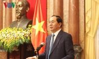 Президент Вьетнама Чан Дай Куанг дал интервью СМИ России и Беларуси