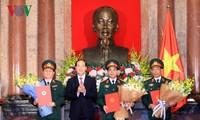 Президент Вьетнама Чан Дай Куанг присвоил воинские звания высшим офицерам