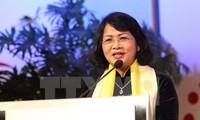 Вице-президент СРВ приняла участие в приеме в связи с 50-летием царствования султана Брунея