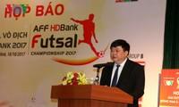 В Хошимине прошла пресс-конференция, посвящённая чемпионату ЮВА по футзалу