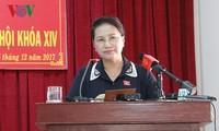 Спикер парламента приняла участие в открытии заседания Народного совета г.Кантхо 9-го созыва