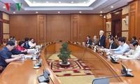 Секретариат ЦК КПВ высказал мнения по итогам проверки выполнения резолюции 4-го пленума 12-го созыва