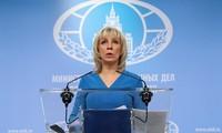 Захарова: «умные ракеты» должны лететь в сторону террористов, а не законного правительства