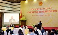 Минпромторг предложил три группы мер для развития экспорта
