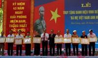 Провинция Хаузянг посмертно присвоила звание «Мать-героиня Вьетнама»