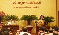 Завершилась 6-я сессия Народного совета города Ханоя