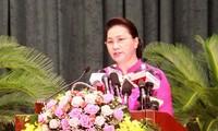 Нгуен Тхи Ким Нган приняла участие в открытии 7-й сессии народного совета города Хайфона