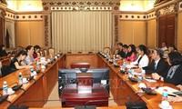 Город Хошимин обязуется содействовать гендерному равноправию, защищать права женщин