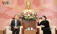 Нгуен Тхи Ким Нган приняла секретаря комиссии ЦК КПК по проверке дисциплины