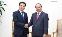 Премьер Вьетнама Нгуен Суан Фук принял начальника канцелярии правительства Лаоса