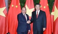 Премьер Вьетнама встретился с генсеком ЦК КПК, председателем КНР