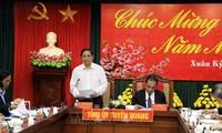 Делегация Организационного отдела ЦК КПВ совершила рабочую поездку в Туенкуанг