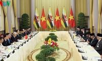 Генсек ЦК КПВ, президент СРВ Нгуен Фу Чонг провел переговоры с султаном Брунея