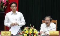 Ву Дык Дам: провинция Куангбинь должна уделять больше внимания разнообразию видов туризма