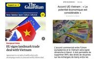 Европейские СМИ: ССТ между СРВ и ЕС предоставляет Вьетнаму политические и торговые возможности