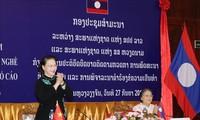 Состоялся тематический семинар между парламентами Вьетнама и Лаоса по надзорной деятельности в сфере профобучения
