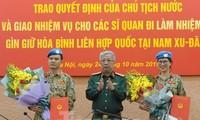 Ещё двое вьетнамских офицеров отправятся в Южный Судан на миротворческую миссию ООН