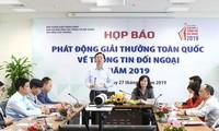 Во Вьетнаме объявлено о национальной премии внешнего информирования 2019 года
