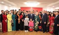 Нгуен Суан Фук встретился с представителями вьетнамской диаспоры в Республике Корея