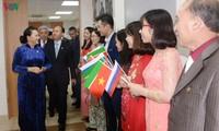 Нгуен Тхи Ким Нган встретилась с представителями вьетнамской диаспоры в Казани