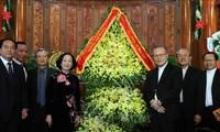 Руководители Вьетнама поздравили верующих с наступающим Рождеством