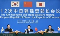 Китай, Япония и Южная Корея договорились ускорить переговоры о свободной торговле