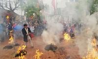 Традиционный конкурс по приготовлению риса в деревне Тхикам
