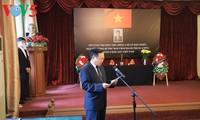 Посольство Вьетнама в РФ организовало церемонию заочного прощания с бывшим генсеком ЦК КПВ Ле Кха Фиеу