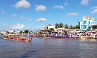Ouverture de la journée culturelle, sportive et touristique des Khmers à Kien Giang