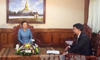 Booster les relations Vietnam-Laos