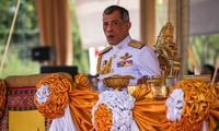 Message de félicitations au nouveau roi de Thaïlande