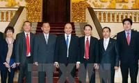 Nguyen Xuan Phuc reçoit le directeur de l'agence Pathet