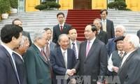 Rencontre d'anciens experts vietnamiens ayant contribué à la révolution du Cambodge