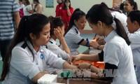 Don du sang : ouverture de la fête du printemps rouge 2017 à Quang Nam