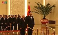 Message de remerciement de Nguyen Phu Trong à Xi Jinping