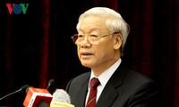 Nouvel An : le secrétaire général accorde à la Voix du Vietnam une interview