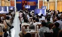 Visioconférence avec les rapporteurs des comités du Parti des villes et provinces