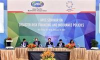 APEC 2017 : le groupe d'experts sur l'assurance pour les catastrophes se réunit