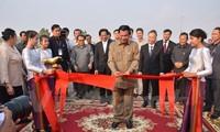 Inauguration de l'avenue Phnom Penh - Hanoi