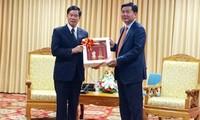 Dynamiser la coopération entre Ho Chi Minh-ville et Vientiane