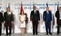 G7 : La Russie a le potentiel pour aider à résoudre le conflit en Syrie