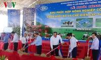 Mise en chantier du complexe agricole de hautes technologies de Binh Thuân