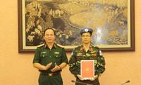 Un autre Vietnamien auprès des missions de maintien de la paix de l'ONU